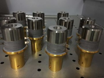 China Heavy Duty Ultrasonic Welding Transducer For Dukane Ultra Series Systems supplier