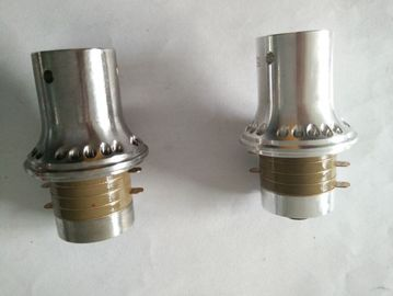 China OEM Aluminum Replacement  Branson 4TH Transducer 6 um Amplitude With M8 Joint Bolt supplier