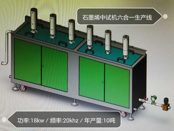 China 20 khz 3000 watt industrial Ultrasonic Sonochemistry with 30 L / min capacity supplier