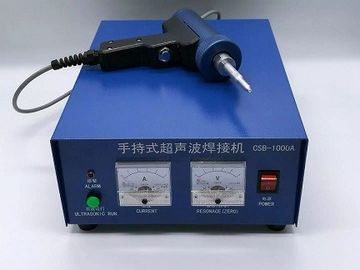 China Small Dimension Ultrasonic Spot Welding Machine High Frequency Welder 28 Khz supplier