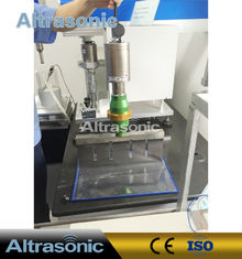China 305mm Titanium Blade Adjustable Ultrasonic Food Cutting / Food Slicing Machine supplier