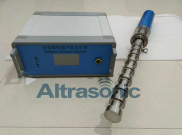 China Ultrasonic Dispersing Equipment With Nine Section Whip Tool / 316 SUS Quick Flange supplier