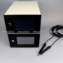 China Step or continuous Ultrasonic Plastic Welding Equipment / Wire Embossing Machine supplier