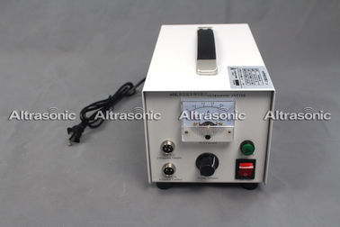 China 40Khz 110V Portable Ultrasonic Power Supply with Cutting Blade for Cutting Non woven supplier