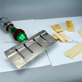 China 305mm Dough Slicing Ultrasonic Food Cutting Machine With Digital Generator supplier