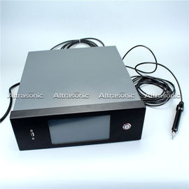 China Ultrasonic Plastic Welding Machine Existing Ultrasonic Embedding Wire Embossing Machine supplier