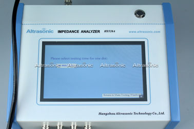 China Touch Screen 1khz - 5mhz Ultrasonic Analyzer Printer For Parameters supplier
