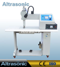 China 35Khz Ultrasonic Seamless Sealing Machine with 12mm Titanium Wheel for Welding supplier