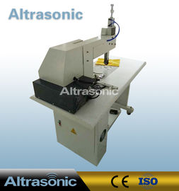 China Non Woven Bag Ultrasonic Sealing Machine Sewing Cutting With Various Roller Patterns supplier
