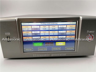 China Precision Control Ultrasonic Plastic Welding Machine With Full Touch Screen supplier