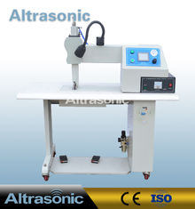 China Seamless Ultrasonic Sealing Machine For Non Woven Fabric , Ultrasonic Sealer Machine supplier