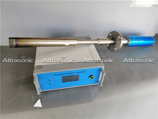 China 2000W Industrial Ultrasonic Metal Treatment Unit For Casting Of Aluminum Slabs supplier