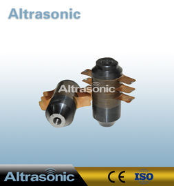 China High Precise 15K 2600W Ultrasonic Welding Transducer , Ultrasonic Piezo Transducer supplier