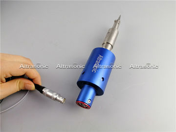 China 30 KHZ Ultrasonic Plastic Cutting Knife Fixed On Automatic Production Lines supplier