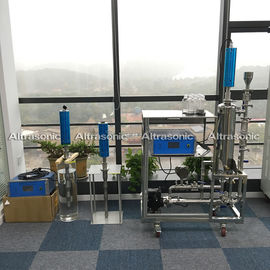 China 3000 Watt High Power Ultrasonic Sonochemistry Treatment System For Graphane Dispersing supplier