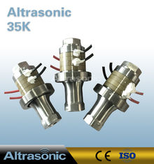 China 100w 35khz Ultrasonic Converter Replacement Of Telsonic For Plastic Welding supplier