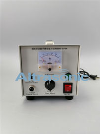 China Ultrasonic 40 Khz Generator Cutter Power Supply For Cutting Plastic And Non - Woven supplier
