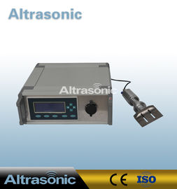 China Table Style Special Ultrasonic Cutting Actuator For Rubber With Titanium Cutter supplier
