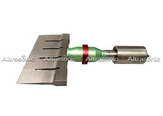 China 800 Watt Ultrasonic Food Cutting Machine Length Of Blade 125/255/305mm Or Customized supplier