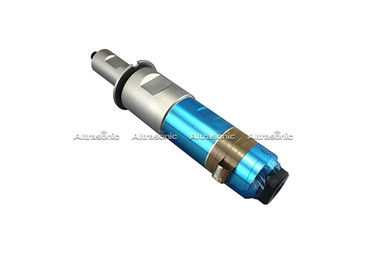 China 20Khz 1500W Ultrasonic Welding Transducer With Steel Booster For Welding Machine supplier