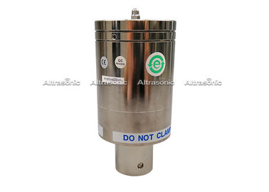 China Silver 20Khz Ultrasonic Level Transducer With 6pcs Ceramic Repalcement Branson CJ20 supplier