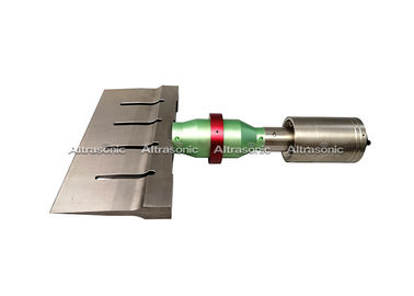 China Longlife Ultrasonic Food Cutting Machine For Dough Cutting With 305mm Titanium Blade supplier