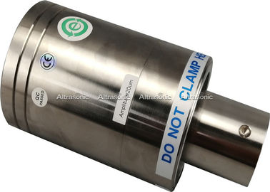 China Branson CJ20 Replacement Ultrasonic Welding Transducer , Ultrasonic Level Transducer 20k supplier