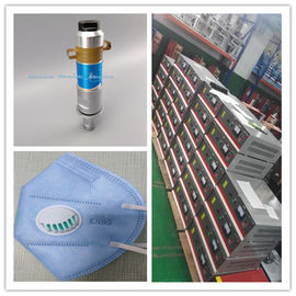 Ultrasonic System Include Generator Transducer And Horn For Virus Mask Machine
