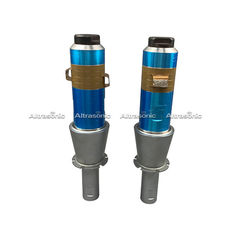 2600w Ultrasonic Welding Transducer , High Power Ultrasonic Transducer With Aluminum Booster
