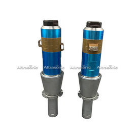 China 2600w Ultrasonic Welding Transducer , High Power Ultrasonic Transducer With Aluminum Booster supplier