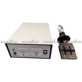 China 20kHz High Power Ultrasonic Spot Welding Machine For Virus Non Woven Mask supplier