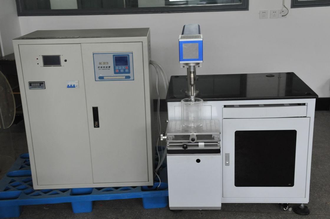 500W Ultrasonic Sonochemistry With Constant Temperature Oil Bath ...