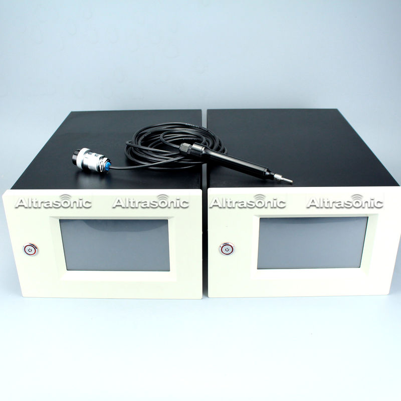 Aluminium Or Nylon Housing Ultrasonic Plastic Welding Machine With Digital Generator