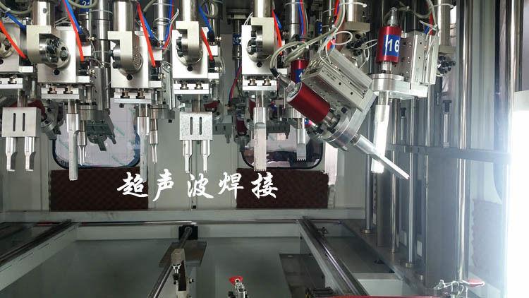 Auto Tuning Ultrasonic Spot Welding Machine Multihead Welding Equipment