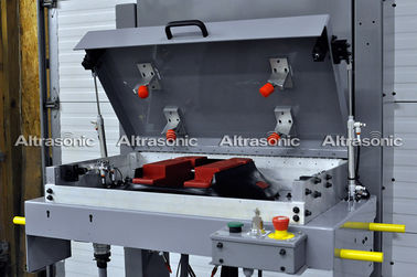China 30Khz Hand Held Ultrasonic Riveting Welding Machine With Aluminum Housing factory