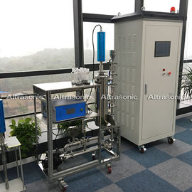 China 2000W Ultrasonic Device Long Stepped Sonotrode For Sonicating Emulsifying and Dispersing distributor