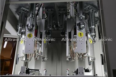 China Automatic Ultrasonic Riveting Machine , Automotive Parts Ultrasonic Welding Equipment factory