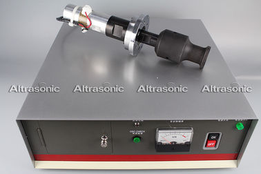 China 20Khz Ultrasonic Oscillator Transducer With Booster Flange Titanium Sonotrode factory