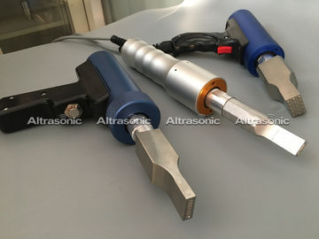 China Auto Plastic High Tech Ultrasonic Spot Welding Machine Gun Type / Cylinder Type distributor
