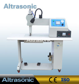 China Seamless Ultrasonic Sealing Machine For Non Woven Fabric , Ultrasonic Sealer Machine factory