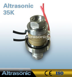 China Telsonic 35K Replacement Type Ultrasonic Transducer For Welding Application factory