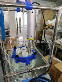 China Small Ultrasonic Homogeniser , Ultrasonic Sonochemistry System For Herbal Extraction distributor