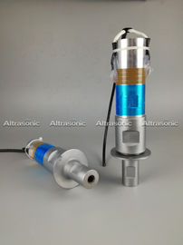 China Piezoelectric Welding High Frequency Ultrasonic Transducer With Titanium Booster factory