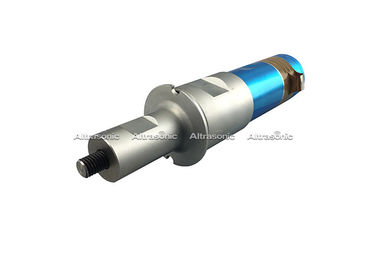 China Sliver + Blue Color High Frequency Ultrasonic Piezo Transducer With Booster factory