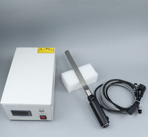 China Compact Automotive Ultrasonic Cutting Device For Sausage Pork Beef Cutting factory
