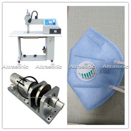 China Reliable 35khz Ultrasonic Sealing Machine For Medical Surgical Gown Sewing distributor