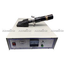 China 20k Ultrasonic Generator With Transducer Welding Horn For White Surgical Mask Machine factory