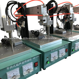 China Low Noise Ultrasonic Spot Welding Machine For Mask Ear Loop Spoter factory