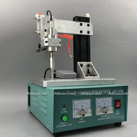 China 35K Semi Automatic Manual Spot Welding Machine For Nonwoven Flat Mask factory