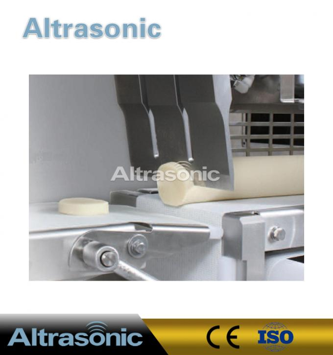 40KHz 500W Ultrasonic Food Cutting Machine With 82mm Titanium Blade